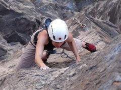 Rock Climbing Photo: Really nice, sustained arete climbing.