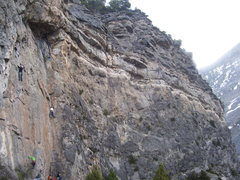 Rock Climbing Photo: A good view of the right side of the wall. You can...