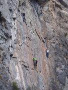 Rock Climbing Photo: I AM WINNING! A good veiew of Millinneum Falcon on...