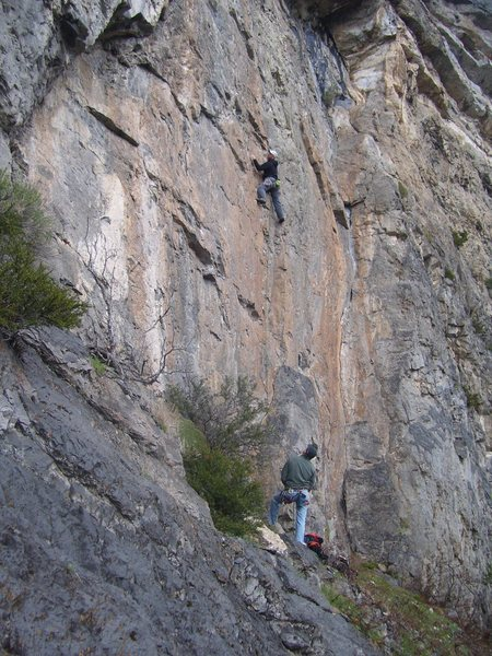 Rock Climbing Photo: Go ahead and try to convince yourself that this do...