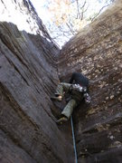 Rock Climbing Photo: Davy Mac on Stems and Seeds