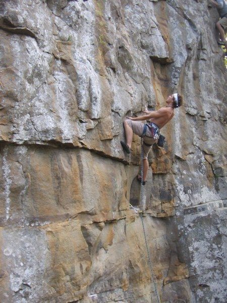 Rock Climbing Photo: Purple Nehi