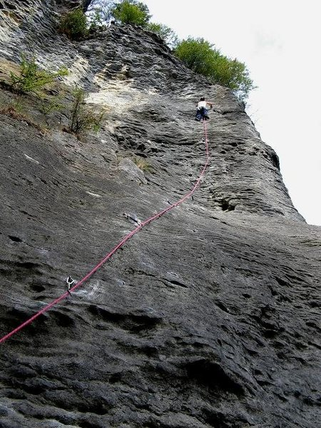 Rock Climbing Photo: to get a sense of the location and the route...sor...