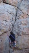 Rock Climbing Photo: Black Powder