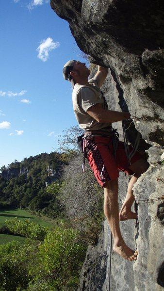 Rock Climbing Photo: kiwis don't need no stinking shoes