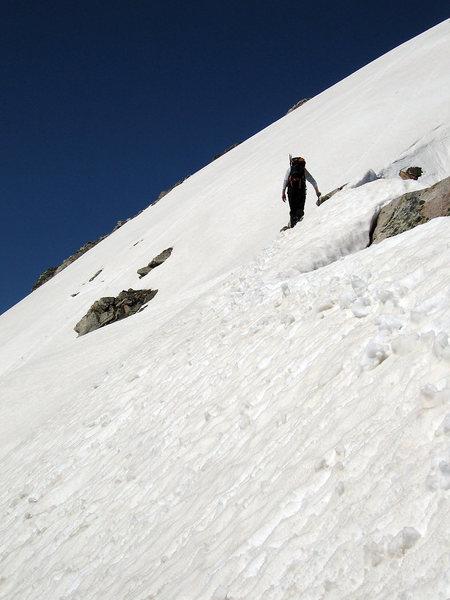 Summit slope