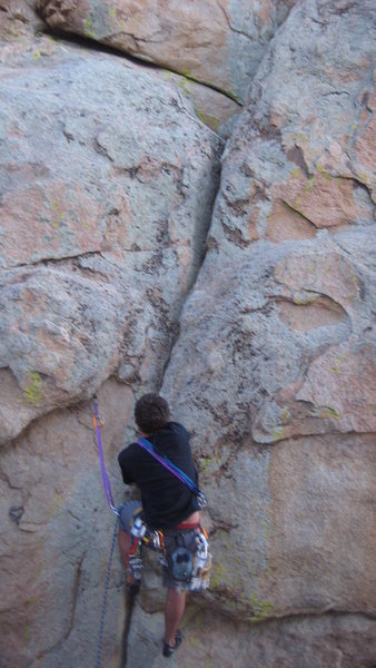 Rock Climbing Photo: Black Powder