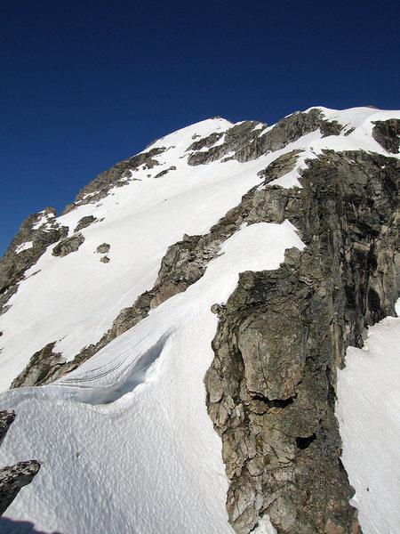The fun East Ridge of Buck.