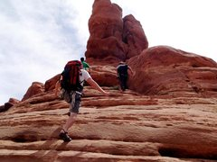 Rock Climbing Photo: scramble scramble