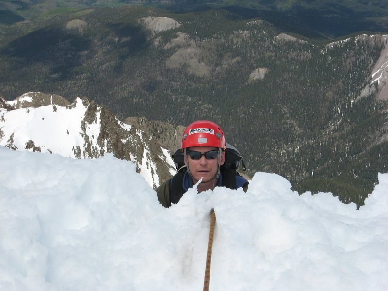 Rock Climbing Photo: Yeah, you're on belay.