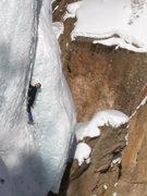 Rock Climbing Photo: Mike on the Verminator.
