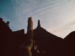 Rock Climbing Photo: A cool piece of calacite.