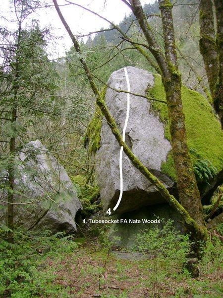 Rock Climbing Photo: Tube Socket.