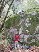Rock Climbing Photo: Pale Face