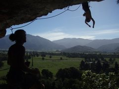 Fantastic bat hang rest.  Badass route!