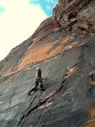 Rock Climbing Photo: sinker locks on straight shooter