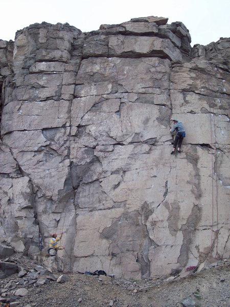 Rock Climbing Photo: MR on Sunset.