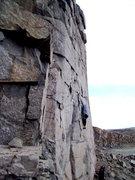 Rock Climbing Photo: Star Shine 5.11c/d, Sunrise Wall, Sea Cliffs.