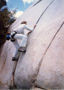 Rock Climbing Photo: Me at the base of the Kernville Slabs in the 80's ...
