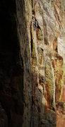 Rock Climbing Photo: Matt Lloyd  Onsight free soloing w/ rope. Linking ...