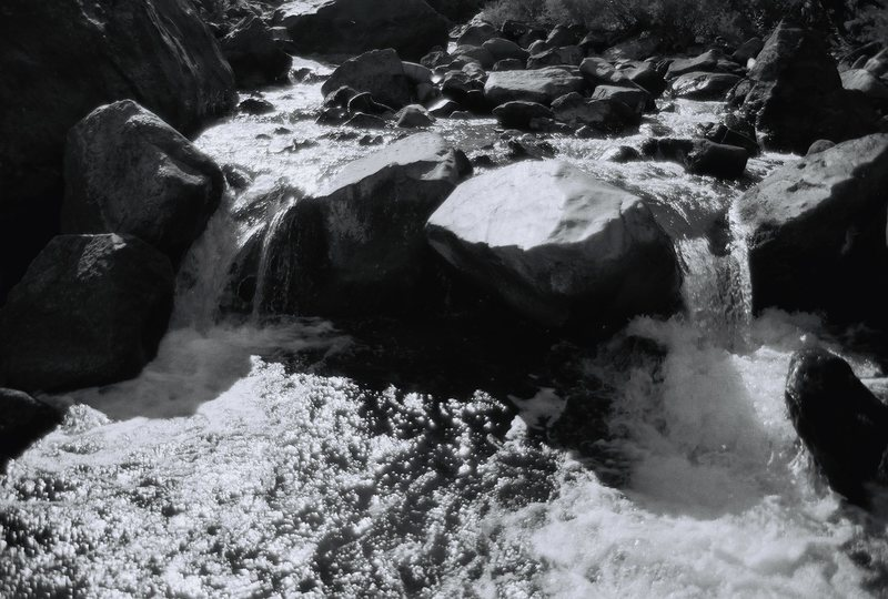 Waterfall in South Boulder Creek.