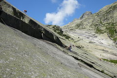 "Rock Climbing Photo: Not sure of the name of this route. maybe ""Ni..."
