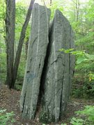"Rock Climbing Photo: The eastern face of ""New Testament"" rock..."