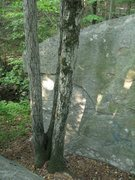 "Rock Climbing Photo: The south face of ""New Testament"" rock. ..."