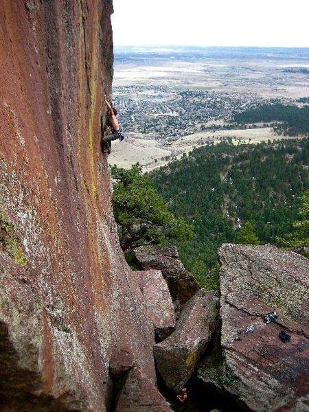 Rock Climbing Photo: Discipline.