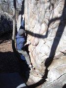 Rock Climbing Photo: rocktown warmup