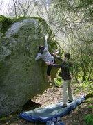 Rock Climbing Photo: Tara on Sleight of Foot