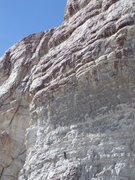 Rock Climbing Photo: On the 2nd of 4 pitches of the middle route up Sha...