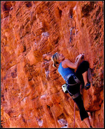 Rock Climbing Photo: Trey Lizardos