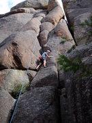Rock Climbing Photo: Turkey Perch 8/08. Gobble Gobble