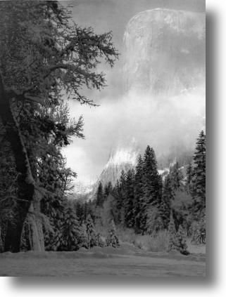One of my favorite Ansel Adams photos. I have a 2'x3' framed copy in my living room.