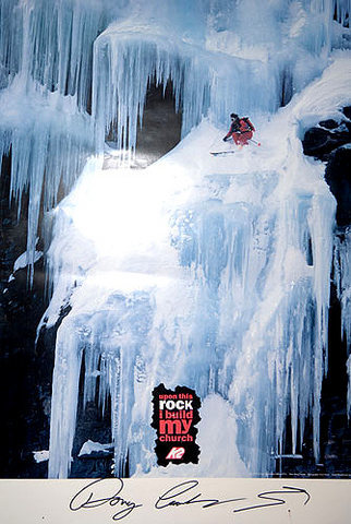 Rock Climbing Photo: The Doug Coombs Memorial Poster, issued again by K...