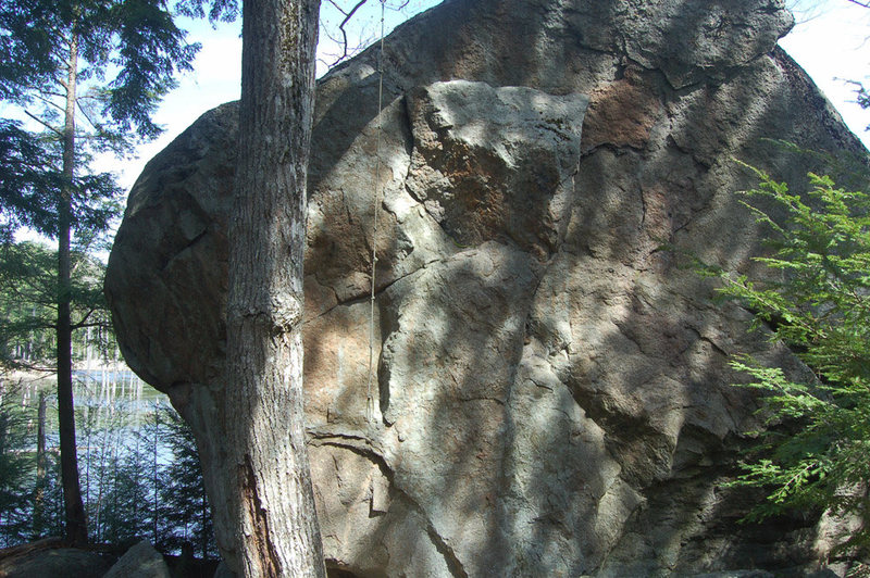 The Rope Swing Boulder