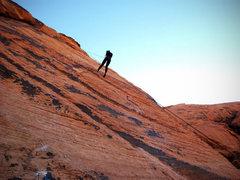 Rock Climbing Photo: Rap down Panty Prow (5.6)