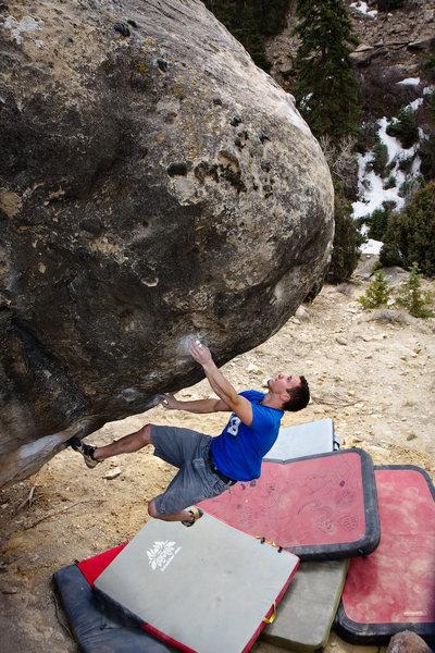 Rock Climbing Photo: Brian Dalrymple on Team Effort