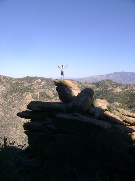 Rock Climbing Photo: Mount Lemmon