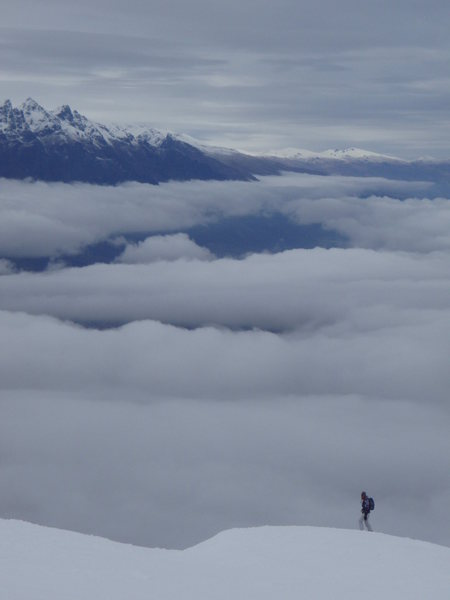Rock Climbing Photo: cornet peak, south island, NZ (august 2007)