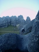 Rock Climbing Photo: think tank, a project no longer (January 2008)