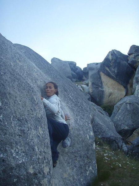 Rock Climbing Photo: still thinking