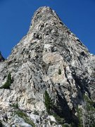 Rock Climbing Photo: SW Ridge of Symmetry Spire