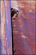 Rock Climbing Photo: Unnamed 5.9 at Blue Gramma