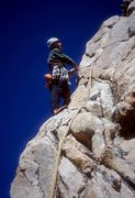 Rock Climbing Photo: James Taylor on the Yellow Slab