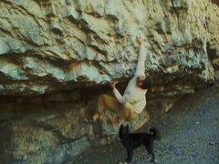 Rock Climbing Photo: campus problem
