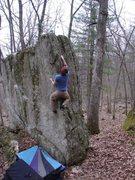 Rock Climbing Photo: Dobbe on Melinhead.