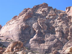 Rock Climbing Photo: South Face, Windy Peak in the afternoon.