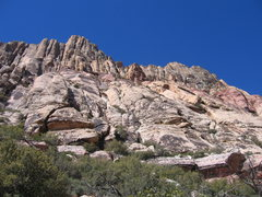 Rock Climbing Photo: View from the approach.
